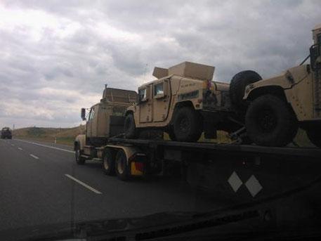 Американски военни в Украйна. Накъде отива колоната от Полша?