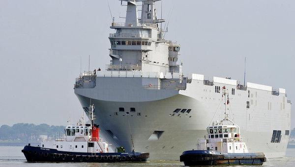 """Париж ще плати 1,2 млрд. долара на Русия за корабите """"Мистрал"""""""