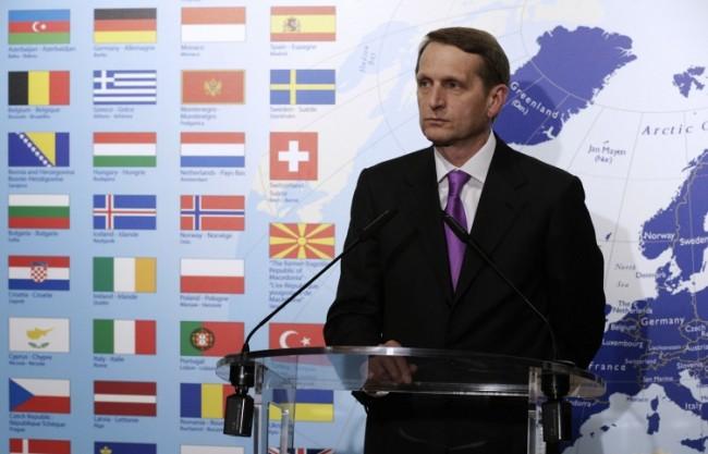 Наришкин получи писмо от представителя на ПА на ОССЕ с призив да участва в сесията