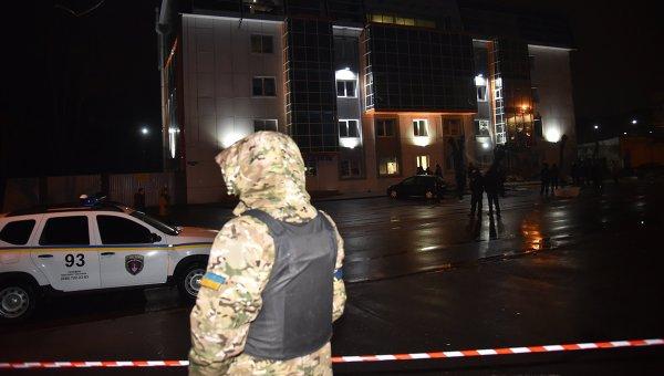 Бомба избухна в кафене в Одеса