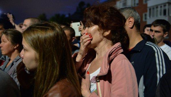 Казарма се срути в Омск, 18 души са загинали (Обновена)
