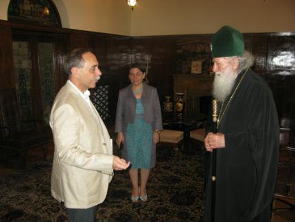 Патриарх Неофит се срещна с българския посланик в Москва
