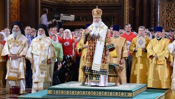 Руската църква почита паметта на светия равноапостолен княз Владимир