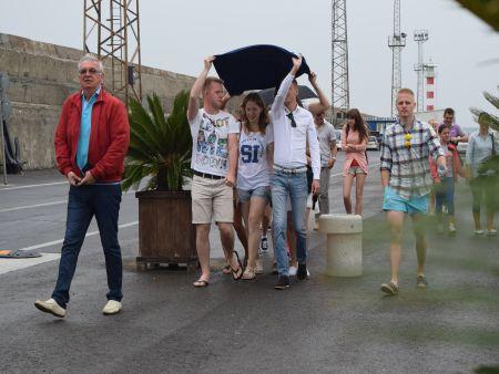 Руски студенти посетиха Пристанище Бургас