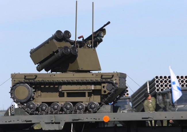 Руска бойна платформа впечатли зрителите на изложението в Севастопол