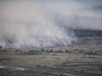 Не успяват да се справят с торфения пожар край Чернобил