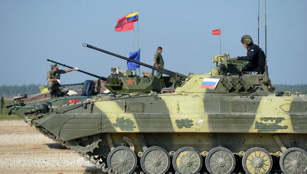 Отборът на руските военни води на АмРИ-2015