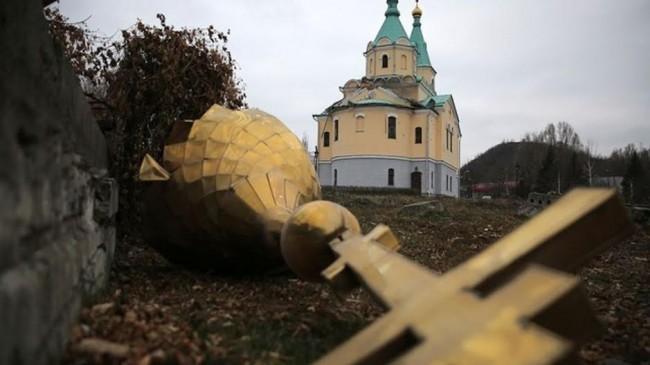 РПЦ: Превземането на храма край Киев напомня гоненията срещу църквата през ХХ в.