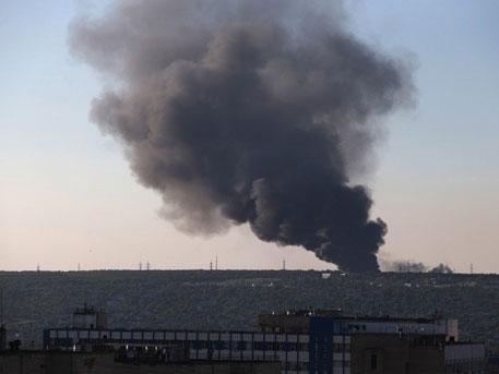 Украинската армия отново подложи Горловка на масиран обстрел