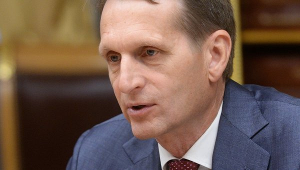 Наришкин: САЩ искат да се доберат до икономическите богатства на Русия