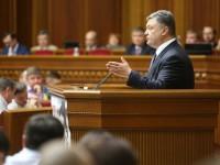 Украинският парламент прие поправки в конституцията за децентрализацията на фона на масови протести