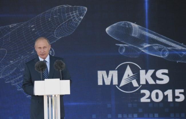 Путин: Русия ще увеличава космическия си потенциал и ще укрепва позициите си в сферата на авиационната техника