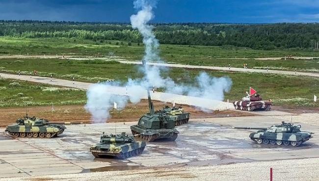 """На полигона """"Алабино"""" стартира вторият етап от съревнованията по танков биатлон"""