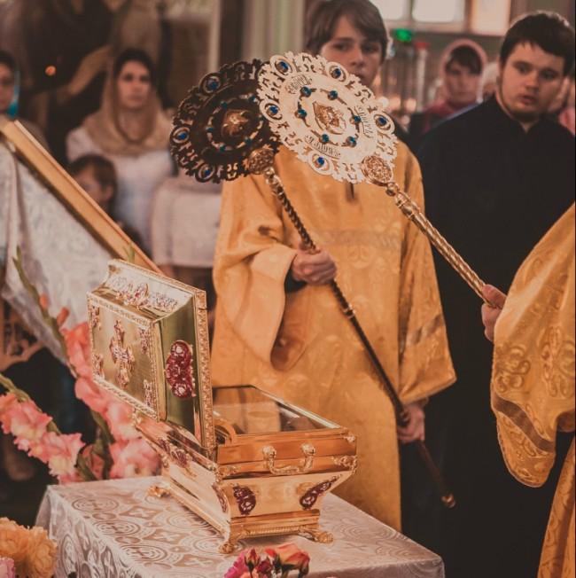 Ковчегът с мощите на светия княз Владимир пристигна в Кострома