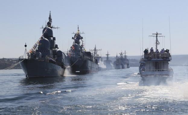 Започна активната фаза на руско-китайското военноморско учение