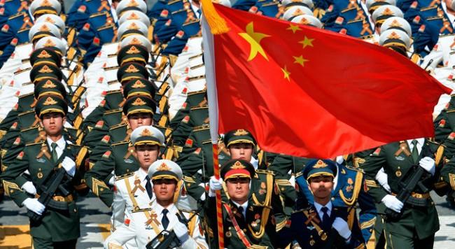 Путин на парада на победата в Пекин