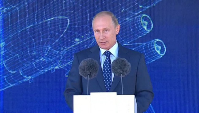 Ще увеличаваме уникалния си космически потенциал, обеща Путин