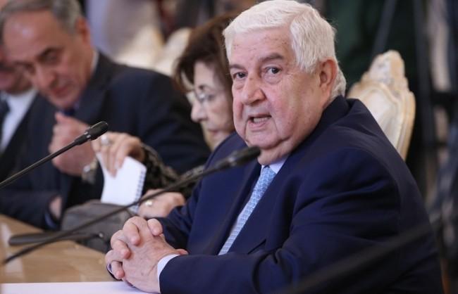Външният министър на Сирия: Дамаск ще се обърне за военна помощ към Москва, ако възникне необходимост