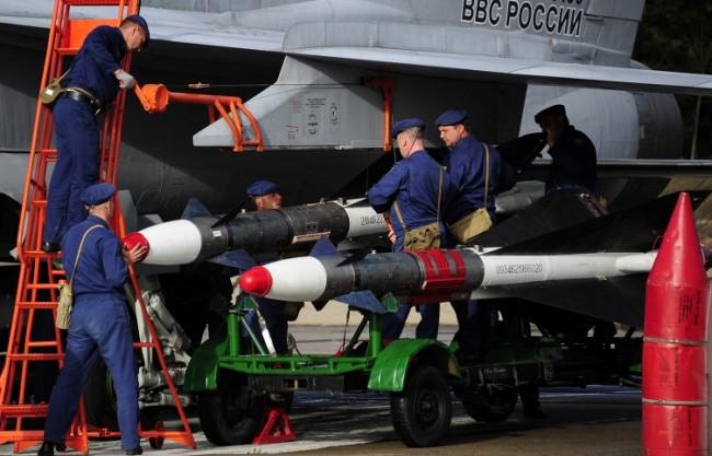 Руски самолети пристъпиха към нанасяне на въздушни удари по ИД в Сирия
