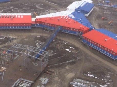 """""""Детелина""""-та – огромният руски комплекс в Арктика"""