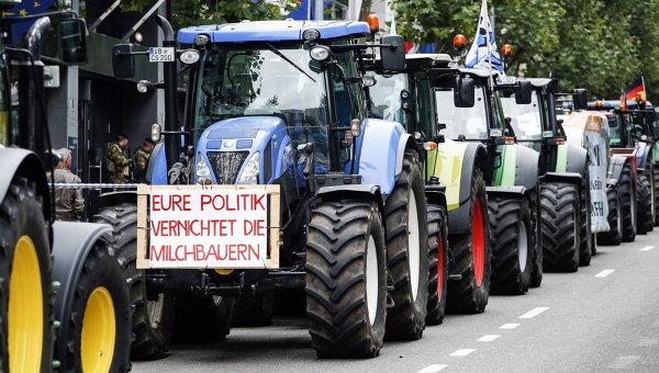 Западни фермери: подкрепата на ЕС не покрива загубите от руското ембарго