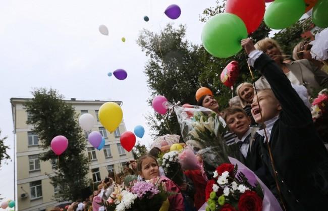 В Русия започна новата учебна година