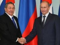 Путин и Кастро обсъдиха двустранните отношения и обстановката в света