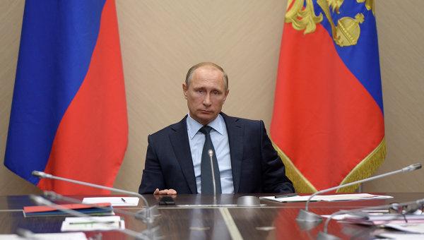 Путин обсъди със Съвета за сигурност на РФ предстоящото си изказване в ООН и ситуацията в Сирия