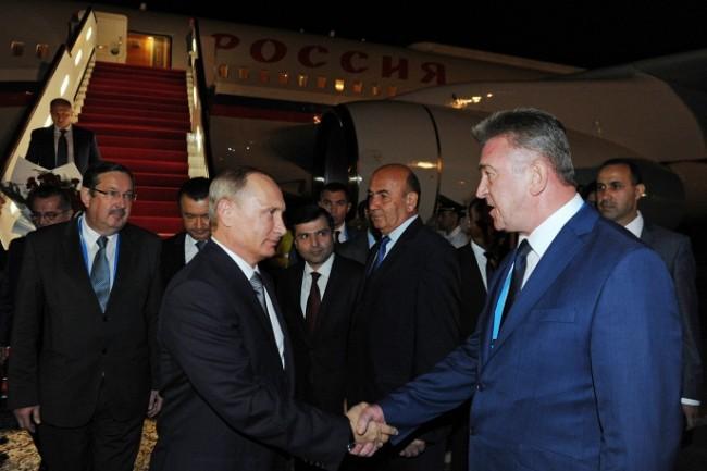 Путин пристигна в Душанбе за срещата на върха на ОДКС