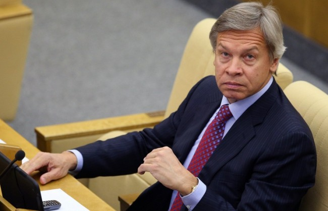 """Пушков счита за """"несбъднати блянове"""" желанието на Порошенко да лиши Русия от правото на вето в Съвета за сигурност на ООН"""