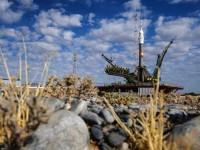 """Ракетата """"Союз-ФГ"""" с новия екипаж стартира към МКС от Байконур"""