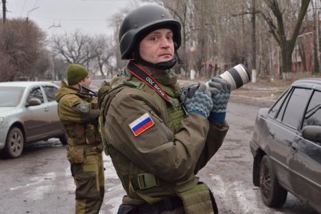 "Снимка: Александър Коц, военен кореспондент на ""Комсомолская правда""."