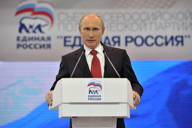 Партията на Путин печели местните избори