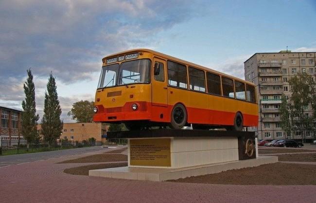 Най-известният автобус в Съветския съюз