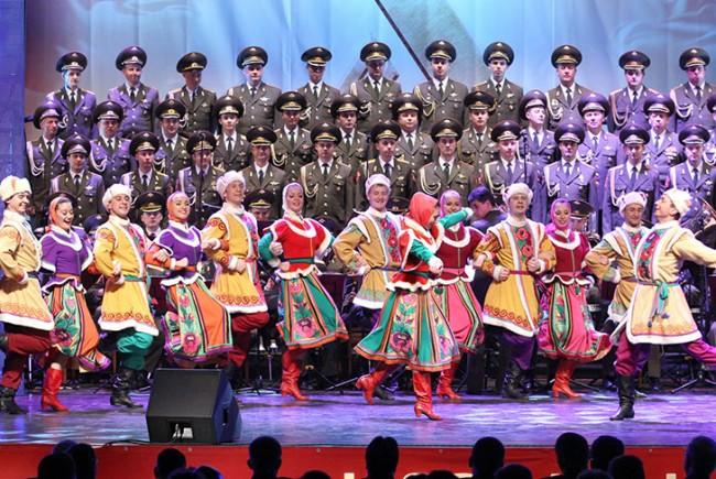 """Започна грандиозното турне на Победата на aнсамбъл """"Александров"""""""