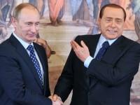 Путин и Берлускони се срещат в Крим