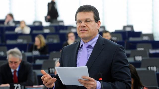 Шевчович: Очаква се подписване на тристранно споразумение между Русия, Украйна и ЕС за газа