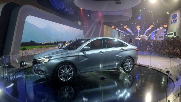 В Русия стартира серийното производство на руската Lada Vesta
