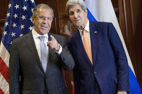 Москва и Вашингтон се опитват да се разберат как да си сътрудничат, за да се реши сирийската криза. Снимка: AP