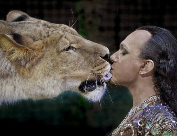 Кралят на цирка Гия Ерадзе: Белият лъв е най-страшен