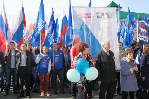Управляващата в Русия партия ще разшири своя електорат