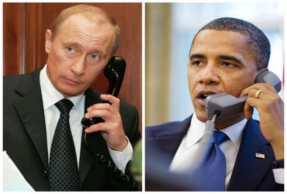 """Обама ще се обади на Путин, когато това бъде """"в интерес"""" на САЩ"""