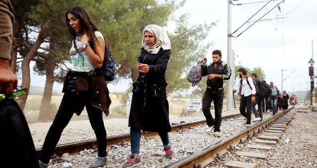 Бежанска вълна от арабския свят едва ли заплашва Русия