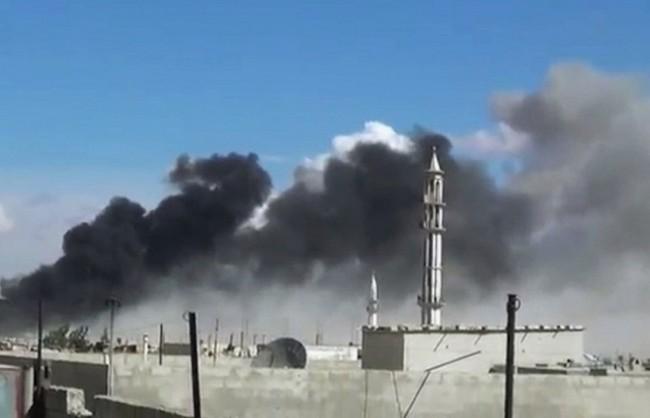 Русия нанесе въздушни удари по 8 обекта на ИД в Сирия