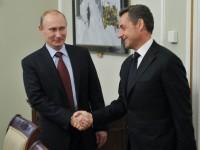 Путин ще обсъди със Саркози актуалните двустранни и международни проблеми, включително и ситуацията в Сирия