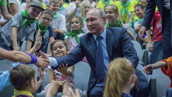 Путин създава Руско ученическо движение