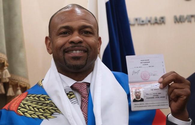 Рой Джоунс-младши получи руски паспорт