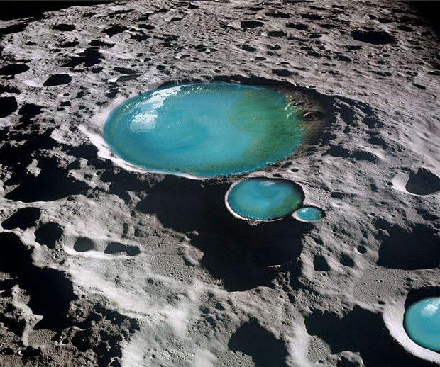Водата на Луната е донесена от астероиди