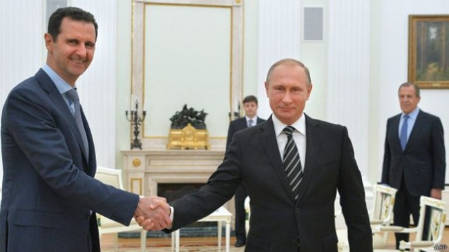 """""""Уолстрийт джърнъл"""": Изводи от посещението на Асад в Москва"""
