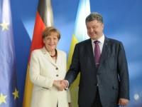 Порошенко и Меркел приветстваха демократичността и прозрачността на украинските избори